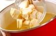 里芋キノコ汁の作り方1
