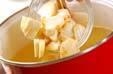 里芋キノコ汁の作り方3