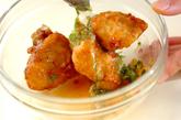 鶏唐のマヨチリ和えの作り方2