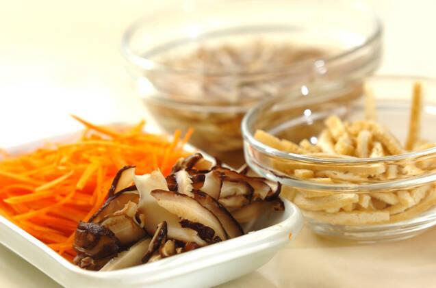 ちらし寿司炊き込みご飯の作り方の手順2