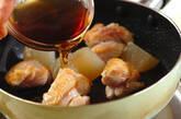 鶏肉とおでん大根の照り焼きの作り方2