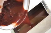 ココア風味の水ようかんの作り方3