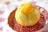サツマイモの茶巾の作り方の手順