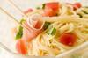 トマトの冷製パスタの作り方の手順4