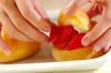 イチゴシュークリームの作り方の手順2