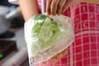 キャベツの梅サラダの作り方の手順4