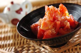 トマトサラダらっきょうドレッシング