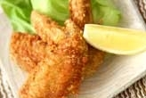 鶏手羽のピリ辛揚げ
