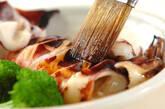スルメイカの漬け焼きの作り方5