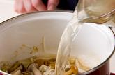 キノコおろしうどんの作り方2
