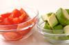 レタスのシナモンサラダの作り方の手順2
