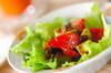 レタスのシナモンサラダの作り方の手順