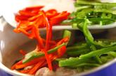 素麺添えタイカレーの作り方2