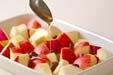 リンゴとお芋のデザートの作り方1
