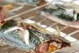 サバの塩焼き・酢の物添の作り方1