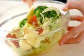 リンゴとクルミのサラダの作り方1