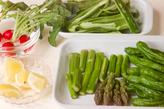 シンプルな焼き野菜の下準備1
