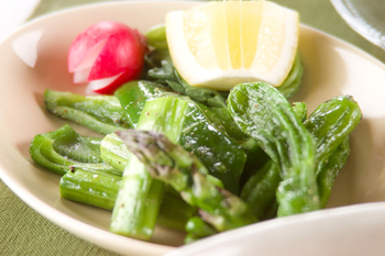 シンプルな焼き野菜