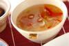 紅白中華スープの作り方の手順