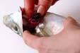 アジのヨーグルトソースの作り方の手順1