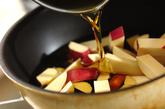 サツマイモのデザートの作り方1