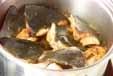 ブリアラとゴボウの煮物の作り方3