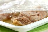 レンジで蒸し鶏の作り方1
