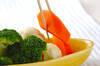 温野菜&アボカドディップの作り方の手順5