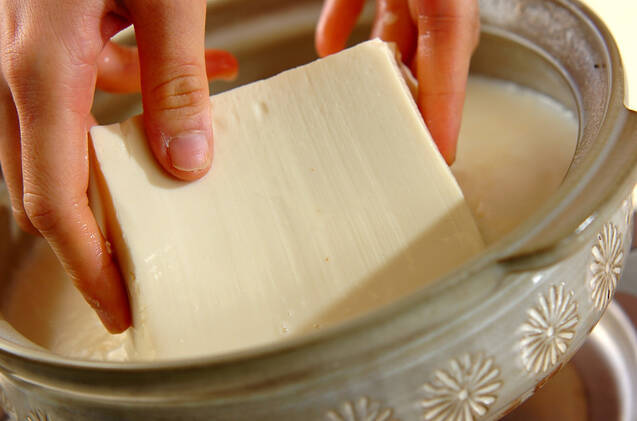 豆乳湯豆腐の作り方の手順5