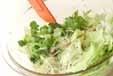 鶏砂ぎものサラダの作り方2