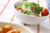 鶏砂ぎものサラダ