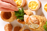 サクサク長芋のサーモン詰めの作り方7