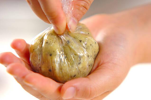 サツマイモの茶巾の作り方の手順3