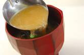 エノキとネギのみそ汁の作り方4