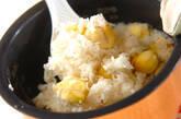 栗の炊きおこわの作り方5