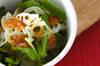 レンコンの梅風味サラダの作り方の手順