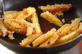 ジャガイモのタラコ炒めの作り方2