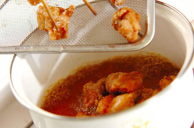 揚げ鶏おろしのせの作り方の手順9
