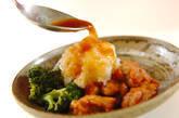 揚げ鶏おろしのせの作り方10