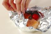 フライパンでアクアパッツァ風ホイル焼きの作り方2