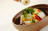 高野豆腐とユリネの卵とじの作り方3