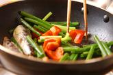 オイルサーディン炒めの作り方2
