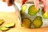 カボチャと鶏肉の煮物の作り方1
