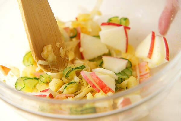 カレーポテトサラダの作り方の手順4