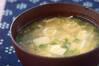 トロトロ卵汁の作り方の手順