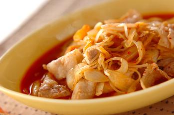 豚モヤシのキムチ煮