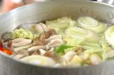 エビと野菜の和風マヨ和えの作り方1