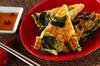 ニラとモヤシの卵焼きの作り方の手順