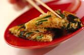 ニラとモヤシの卵焼きの作り方7