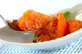 トマトと大葉のサッと炒めの作り方4